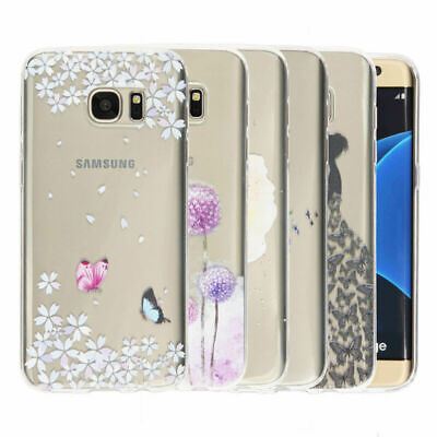 For Samsung Galaxy A5 A7 J2 J3 J5 S7 Slim Soft Rubber Silicone Phone Case Cover