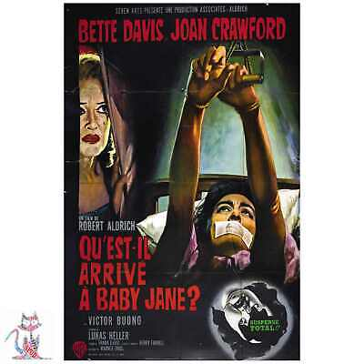POSTER FILM A4 A3 A2 A1 LARGE FORMAT CINEMA WHAT EVER HAPPENED TO BABY JANE