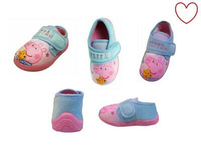 Official Girls Peppa Pig Character Slippers