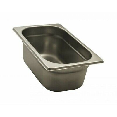 Pan Gastronorm Containers Stainless Steel Gn 1/4 Height 10 CM