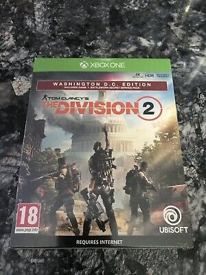 Tom Clancy's The Division 2 - Washington DC Edition (Xbox One, Brand New Sealed)