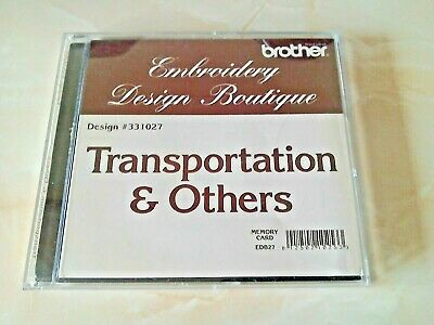Brother Embroidery Card (Card only)