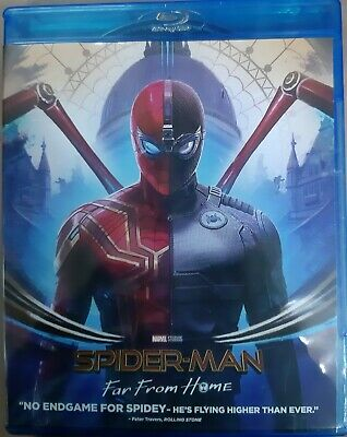 Spider Man Far From Home (3D Blu-ray + Blu-ray) (2-Disc) (Region Free) (Sp Editi
