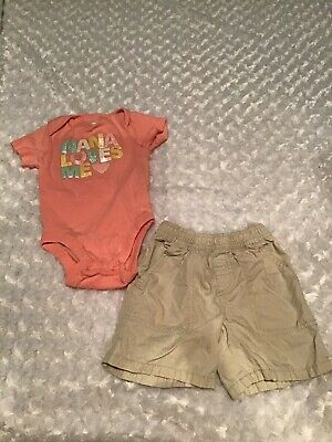 Old Navy/The Children's Place Baby Girl Outfit Set Size 18-24 Months In EUC(AG)