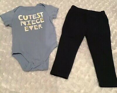 Old Navy/Maggie & Zoe Baby Girl Outfit Set Size 12-18 Months In EUC (BIN AG)