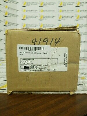 United Electric J120-156 Pressure Switch *FREE SHIPPING*