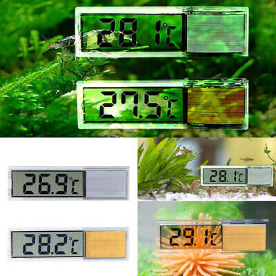 Aquarium Thermometer LCD 3D Electronic Digital Temperature Fish Tank Temp Meter