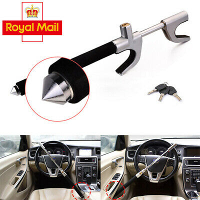 Portable Car Anti Theft Steering Wheel Lock Clamp Trailer Security Locking Tool