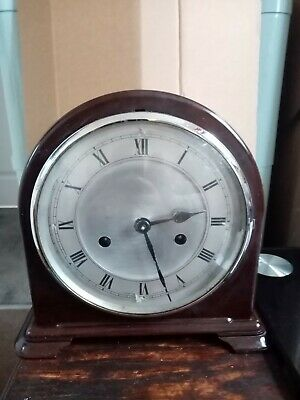Antique chiming mantle clock