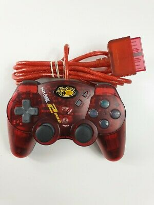MADCATZ DUAL FORCE 2 PRO WIRED Red CONTROLLER FOR SONY PS2 PLAYSTATION 2