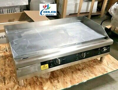 "NEW 36"" Electric Griddle Flat Grill Stove Countertop NSF ETL 208/240V Commercial"