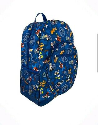 NEW Walt Disney World Parks 2019 Mickey & Friends 4 Park Icons Backpack Bookbag