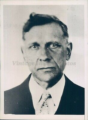 1935 Photo August Melhorn Jr Fugitive Arrest Crime CA Salesman
