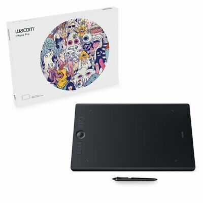 Wacom Intuos Pro digital graphic drawing tablet for Mac or PC, Large, (PTH860...