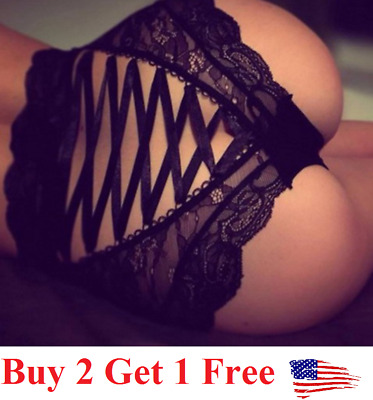 Sexy Women Lace Thong belly waist trainer Panties Lingerie Underwear  corset
