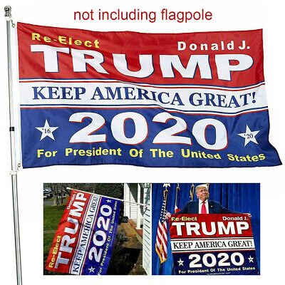 US 3x5 Ft RE-Elect Donald J. Trump 2020 Flag Keep America President MAGA Flag