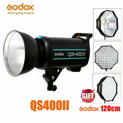 Godox QS400II 400W 400Ws 2.4G Wireless X System Flash Head Strobe Flash 220V