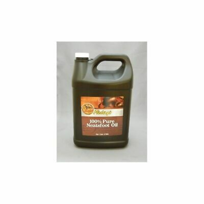 FIEBING'S Neatsfoot Oil 100% Pure 1 Gallon Leather Saddle Boots Tack