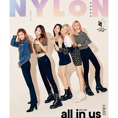 ITZY Cuttings 16Pages Cover Magazine Clippings NYLON Korea Oct 2019 K-POP Star