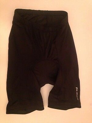 Black Bicycle cyclist Padded Bottom Shorts Vgc Fit 6 / 8