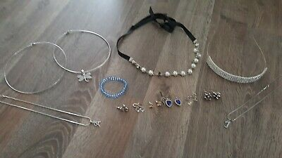 -GIRLS MIX  ACCESSORIES HEADBAND / NECKLET/EARRING ...( new & used )