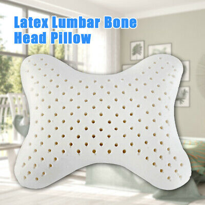 Car Pillow Latex Neck Support Headrest Car Seat Cushion Shoulder Pain Relief