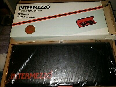 intermezzo record dry cleaning kit new in box sealed