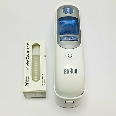 For Braun Thermoscan 7 IRT6520 Ear Thermometer Infants High Speed Compact Baby