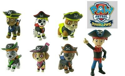 Paw Patrol Pirate Pups To Rescue Personaggi In Gomma Comansi New 2019