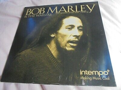 BOB MARLEY & THE WAILERS LP / LIVE AT BOSTON MUSIC HALL 8th JUNE 1978 ( MINT & S