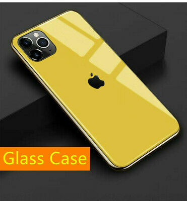 Shockproof Case Cover Hybrid Toughen Glass for i Phone 11 XS MAX XR X 7 8 Plus