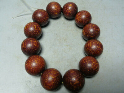 """0.79"""" Collection Chinese Exquisite Ox horn Hand-made Ox horn beads Bracelet"""