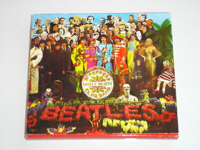 The Beatles Sgt. Pepper's Lonely Hearts Club Band CD Album Made In Italy