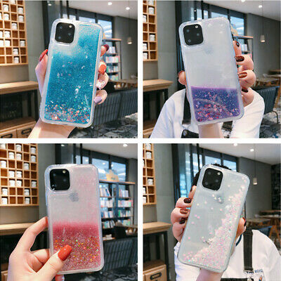 Liquid Glitter Quicksand Soft Clear Case Cover For iPhone 11 Pro Max XR X 8 7 6S