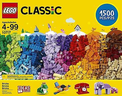 Lego 10717 Classic Bricks Starter Set with Ideas - New & Factory Sealed