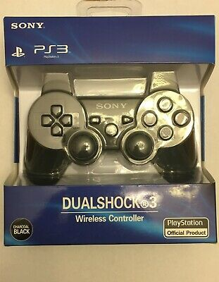 SONY Playstation 3 PS3 DualShock 3 Wireless Controller Black Genuine Official