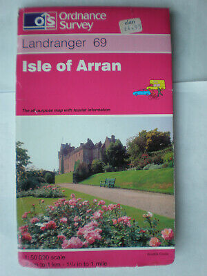 69  Isle of ARRAN ORDNANCE SURVEY MAPS OS LANDRANGER