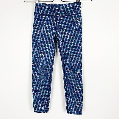 GapFit Gap Kids Girls Activewear Yoga Cropped Capri Leggings Small