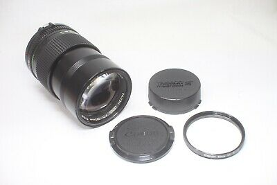 Excellent Canon New FD NFD 135mm F/2.8 Telephoto MF Lens Made In Japan