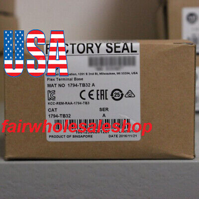 Allen-Bradley 1794-TB32 Terminal Base, for 32 Point Modules, Cage Clamp, US Ship