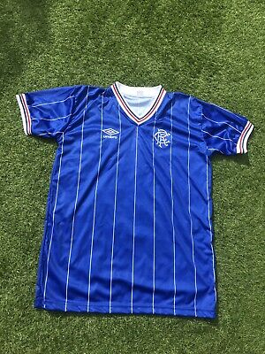 Glasgow Rangers 1983-84 Replica Home Football Shirt 3Xl
