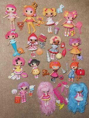 15 Lalaloopsy Mini Lot With Pets And Accessories Includes 4 Complete Sets