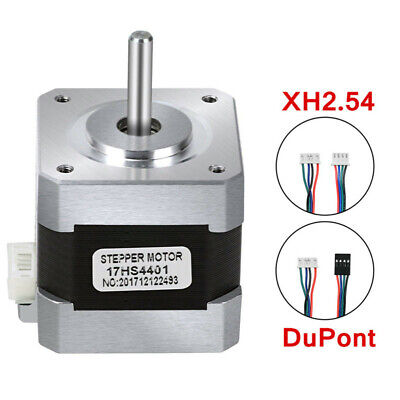 17HS4401 Regular 4-wire Nema17 Stepper Motor 1.7A For 3D Printer and CNC 40MM