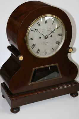 CONNELL & GANTHONY TWIN FUSEE BOARDROOM BRACKET CLOCK superb 5 pillar mechanism