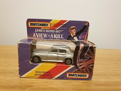 Matchbox James Bond 007 A View To A Kill Rolls-Royce Silver Cloud II