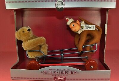 Steiff Museum Wiwag mit Affe / Seesaw with Monkey, Replica 1924, 4010872, limit.