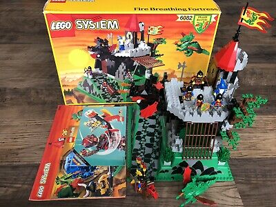 Complete Lego Set 6082 Dragon Masters Fire Breathing Fortress Knights System