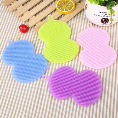 5772 Brush Silicone Washing Brush Cup Mat Kitchen Accessories