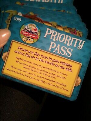 Cbeebies Fast Track Tickets Alton Towers 5 tickets