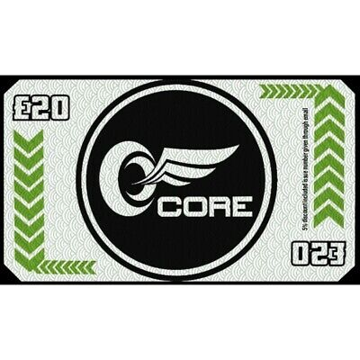 CORE motorcycle £20 Voucher (5% Off Job Total)